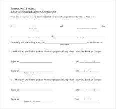 sponsorship letter templates 40 free sample example format