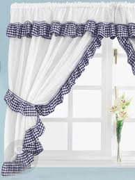 Black Gingham Curtains Colorful Curtains Black And White Checkered Kitchen Curtains