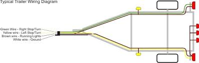 trailer wiring diagram 4 pin wiring diagram and schematic