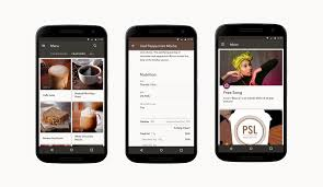 starbucks app android starbucks android material design androidpub