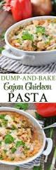 Pasta Recipes Dump And Bake Cajun Chicken Pasta The Seasoned Mom