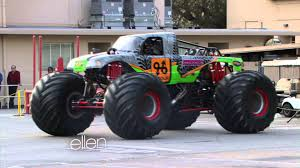 monster jam trucks videos monster truck driver rosalee ramer interviewed on u0027ellen u0027 youtube