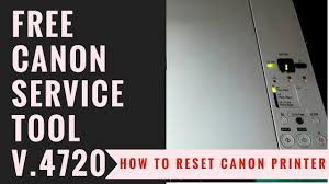 reset tool for canon ip4840 download how to reset canon printer youtube