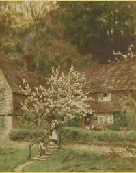 country cottage cross stitch charts ref 004 cherry tree cottage