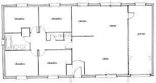 plan maison simple 3 chambres charmant plan maison 100m2 plein pied 3 chambres 13 plan dune