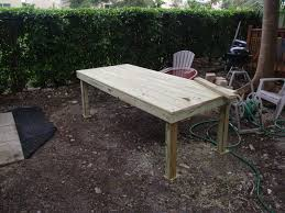 diy backyard patio table to travel is better than to arrive