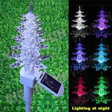 christmas tree solar lights outdoors china christmas tree solar fairy stick light for outdoor garden