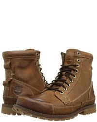 timberland earthkeepers rugged original leather 6 boot lace up