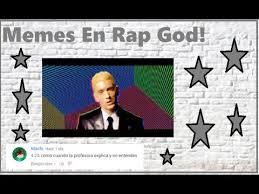 Eminem Rap God Meme - memes de rap god danii dm youtube