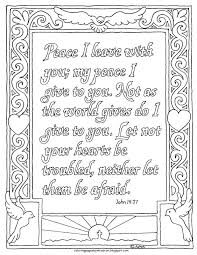 coloring pages for kids by mr adron john 14 27 coloring page