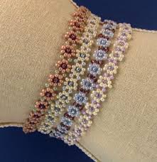 free beaded bracelet pattern images Free bead patterns and ideas by sandra d halpenny daisy chain jpg