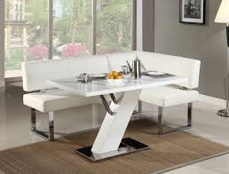 attractive white kitchen nook set tables and chairs com with small