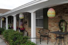 Easter Decorations For The House by Easter Egg Topiary The Seasonal Home