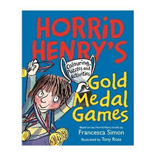 Horrid Henry U0027s Gold Medal Games Colouring Puzzles
