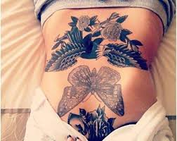 15 absolutely gorgeous stomach tattoos for