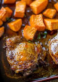 Balsamic Roast Beef In Oven Sheet Pan Balsamic Chicken Dinner Then Dessert