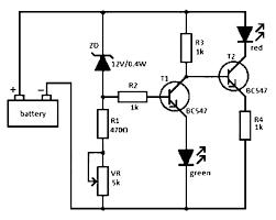 cara membuat powerbank dengan panel surya rangkaian indikator level baterai sederhana