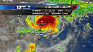 New Orleans Weather Map by Hurricane Harvey Makes 2nd Landfall In Texas