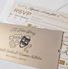 unique wedding invitations bespoke wedding stationery broadway
