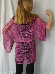 hairpin lace crochet rurification hairpin lace tunic