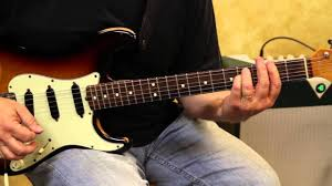 country style chord progession fender stratocaster youtube
