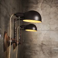 Vintage Industrial Wall Sconce Vintage Industrial Wall Sconce Light Savary Homes