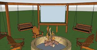 easy diy outdoor movie screen remodelaholic bloglovin u0027