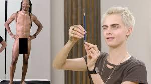 Janine And Vanity Watch Cara Delevingne Draws Models Vanity Fair Video Cne