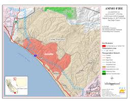 Map Southern California Map Of Current Fires In Southern California California Map