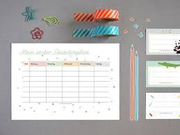 stundenplan designen die besten 25 stundenplan ideen auf lebens to do