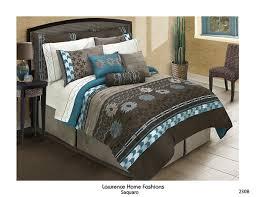 Machine Washable Comforters Saquaro Chocolate Brown Comforter Set Southwest Design Machine