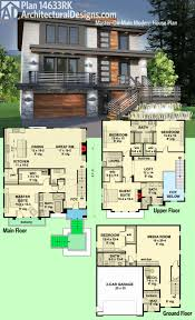 House Design Software Free Nz by Modern Two Storey House Designs Architecture Floor Plan With