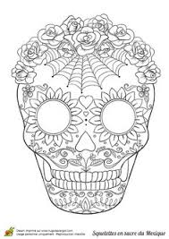 free printable sugar skull coloring sheets sugar skulls