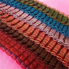 pleated ribbon pleated ribbon