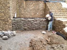 Dry Laid Patio by Retaining Walls Firepits Masonry Petoskey