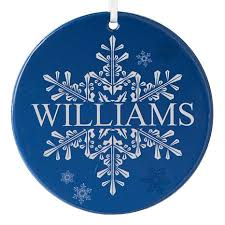 personal creations personalized snowflake ornament 7646210