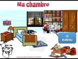 vocabulaire de la chambre ma chambre vocabulaire