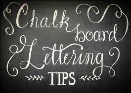 chalkboard lettering tips a not so beginner tutorial silver fox