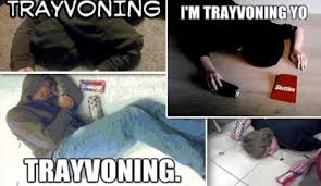Trayvoning Meme - the most disgusting internet meme white kids are trayvoning again