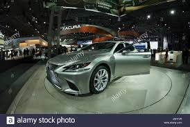 lexus cars nyc new york united states 12th apr 2017 lexus ls500 car unveiled