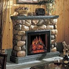 Rustic Electric Fireplace Standout Electric Fireplaces Truly Electrifying