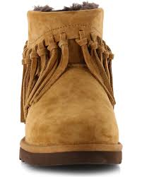 womens ugg hiking boots ugg s winona fringe boots boot barn