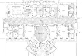 mansion floor plans white house ground house plans 42975