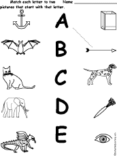 letter d alphabet activities at enchantedlearning com