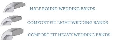 comfort fit ring comfort fit ring vs flat fit wedding bands for comfort
