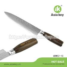 Damascus Kitchen Knives For Sale by Damascus Steel Knife Manufactured Yangjiang Damascus Steel Knife