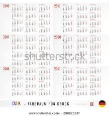Kalendář 2018 Svátky Calendar 2016 2017 2018 2019 2020 Stock Vektor 298925264