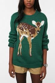 deer sweater at outfitters dearest deer