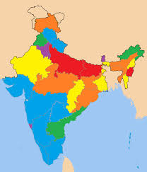 India State Map by List Of Indian States And Union Territories By Gdp Per Capita