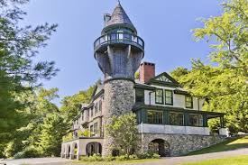 House With Tower | reved victorian carriage house includes tower private beach for